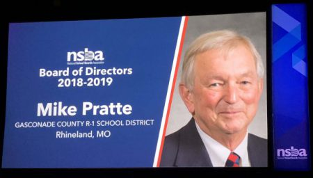 Mike Pratte Elected to National School Board