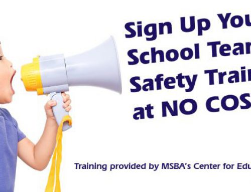 Sign Up Your School Team for Safety Training at NO COST!