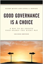 Good Governance Is A Choice: A Way to Re-create Your Board – the Right Way, 2nd Ed. Book Cover